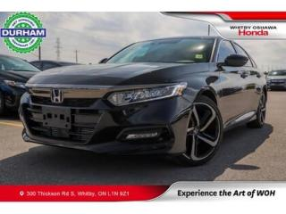 Used 2020 Honda Accord Sport   Power Moonroof for sale in Whitby, ON