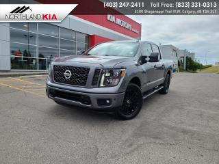 Used 2018 Nissan Titan SV Midnight Edition 4X4, NAVIGATION, HEATED SEATS, BACKUP CAMERA for sale in Calgary, AB