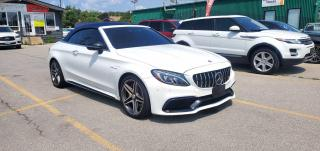 Used 2017 Mercedes-Benz C-Class AMG C63 S Convertible for sale in Burlington, ON