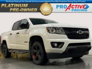 Used 2018 Chevrolet Colorado LT | Crew | Redline Edition | Htd Buckets | Remote Start | Rear Camera for sale in Virden, MB
