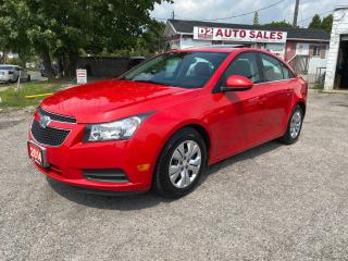 Used 2014 Chevrolet Cruze Automatic/Accident Free/Certified/1YR Warranty for sale in Scarborough, ON