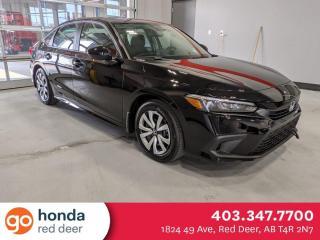 New 2022 Honda Civic SEDAN LX for sale in Red Deer, AB