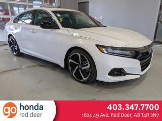New 2021 Honda Accord Sedan Sport for sale in Red Deer, AB