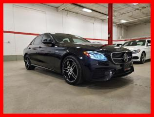 Used 2018 Mercedes-Benz E-Class E43 4MATIC AMG DRIVERS PACKAGE PREMIUM TECHNOLOGY DISTRONIC CLEAN CARFAX for sale in Vaughan, ON