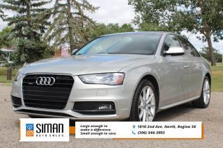 Used 2015 Audi A4 2.0T Progressiv plus S-LINE for sale in Regina, SK