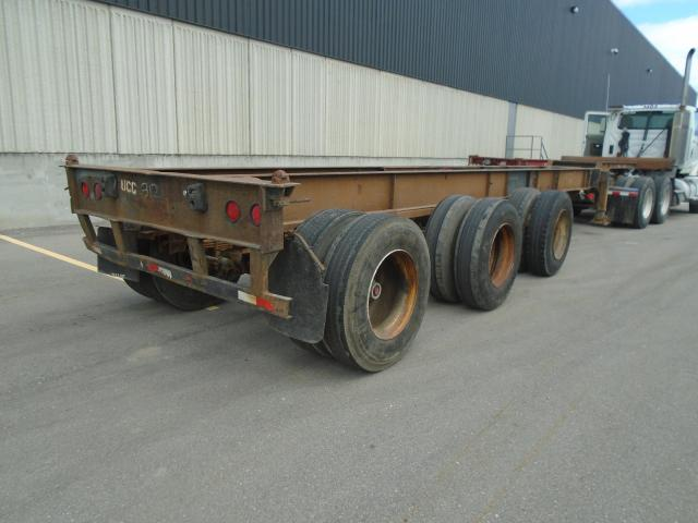 1995 Cheetah 40 FOOT TRIAXLE CONTAINR CHASSIS 40 FOOT