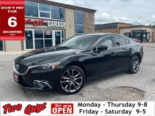 Used 2017 Mazda MAZDA6 GT | Nav | Leather | New Tires | Sunroof | for sale in St Catharines, ON