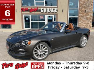 Used 2017 Fiat 124 Spider Prima Edizione Lusso   Auto   Nav   Leather   for sale in St Catharines, ON