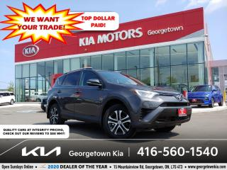 Used 2016 Toyota RAV4 LE AWD | HTD SEATS | B/UP CAM | BLUETOOTH | ALLOYS for sale in Georgetown, ON