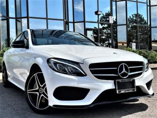 Used 2018 Mercedes-Benz C-Class C 300|AWD|PANORAMIC ROOF|RED INTERIOR|HEATED MEMORY SEATS| for sale in Brampton, ON