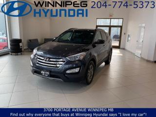 Used 2016 Hyundai Santa Fe PREMIUM - Heated seats, Bluetooth, Heated steering wheel for sale in Winnipeg, MB