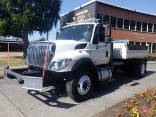 Used 2010 International 7300 Workstar Dump TruckAir Brakes Diesel for sale in Burnaby, BC
