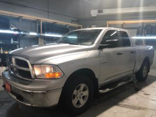 Used 2010 RAM 1500 SLT Quad Cab 4X4 4.7L V8 * Step Bars * Power Sliding Rear Window * Hands Free Calling * Trailer Brake Control * Trailer Receiver W/ Pin Connector * To for sale in Cambridge, ON