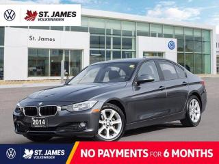 Used 2014 BMW 3 Series 320i xDrive, PUSH TO START, HEATED FRONT SEATS, BLUETOOTH for sale in Winnipeg, MB