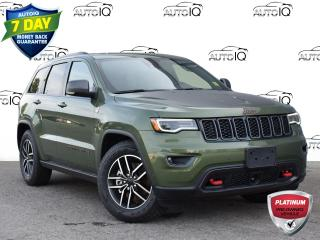 Used 2021 Jeep Grand Cherokee Trailhawk Dealer Demonstrator for sale in St. Thomas, ON