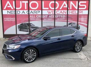Used 2020 Acura TLX TECH-ALL CREDIT ACCEPTED for sale in Toronto, ON