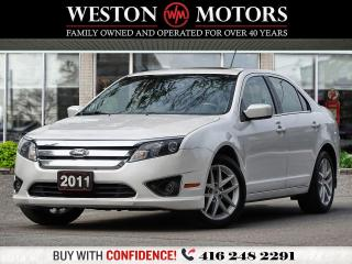 Used 2011 Ford Fusion SEL*SUNROOF*LEATHER*REVCAM!!* for sale in Toronto, ON