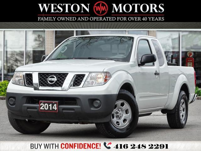 2014 Nissan Frontier S*2.5L*EXT CAB*2WD*KING CAB -POWER GROUP!!*