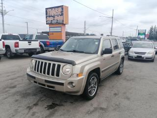Used 2009 Jeep Patriot NORTH*ONLY 130KMS*MANUAL*4X4*AS IS SPECIAL for sale in London, ON