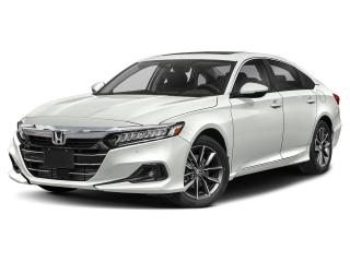 New 2021 Honda Accord EX-L ACCORD 4 DOORS for sale in Woodstock, ON