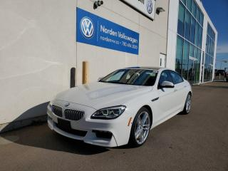 Used 2016 BMW 6 Series 650i xDrive   Gran Coupe   M Sport! for sale in Edmonton, AB