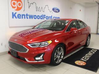 Used 2020 Ford Fusion Hybrid Hybrid   Titanium   Lane Keeping   Adaptive Cruise   for sale in Edmonton, AB