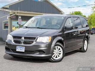 Used 2016 Dodge Grand Caravan SXT,LOW KMS,STOW-N-GO,R/V CAM,DVD,B.TOOTH for sale in Orillia, ON