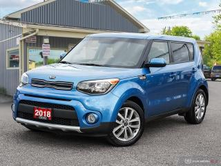 Used 2018 Kia Soul EX+,ECO/SPORT,R/V CAM,H/SEATS & S.WHEEL,B.TOOTH for sale in Orillia, ON