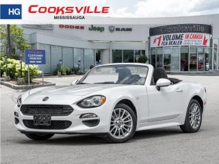 Used 2017 Fiat 124 Spider 2dr Conv Classica for sale in Mississauga, ON