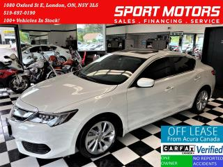 Used 2018 Acura ILX Premium+Adaptive Cruise+Remote Start+CLEAN CARFAX for sale in London, ON