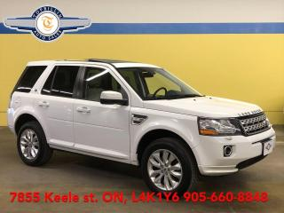 Used 2014 Land Rover LR2 4WD, Navi, Leather, Sunroof 2 Years Warranty for sale in Vaughan, ON