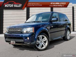 Used 2013 Land Rover Range Rover Sport 4WD HSE 360 CAMERA / NAVIGATION MINT! for sale in Scarborough, ON