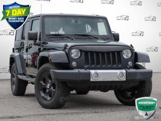 Used 2015 Jeep Wrangler Unlimited Sahara | Navigation | 2 Tops!! for sale in Oakville, ON
