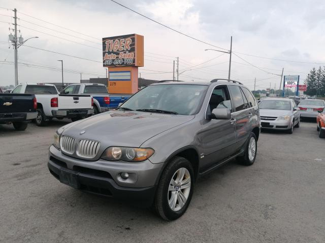 2005 BMW X5 4.4i*LEATHER*ROOF*LOADED*ONLY 171KMS*CLEAN*AS IS