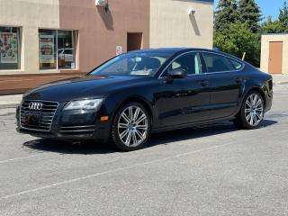 Used 2012 Audi A7 3.0 Prestige AWD Navigation/Sunroof /Camera for sale in North York, ON