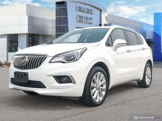 Used 2017 Buick Envision Premium II AWD   Leather   Sunroof   Navigation for sale in Winnipeg, MB
