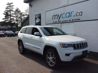 Used 2020 Jeep Grand Cherokee Limited LEATHER, PANOROOF, NAV, PWR LIFTGATE, BEAUTY!! for sale in Richmond, ON