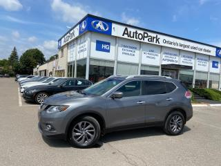 Used 2016 Nissan Rogue SL Premium PANORAMIC ROOF | NAV | 360 CAMERA | LEATHER SEATS | for sale in Brampton, ON
