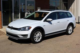 Used 2019 Volkswagen Golf Alltrack 1.8 TSI Highline AWD - ACCIDENT FREE - LOCAL VEHICLE for sale in Saskatoon, SK