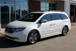 Used 2016 Honda Odyssey Touring - ACCIDENT FREE - LOCAL VEHICLE for sale in Saskatoon, SK