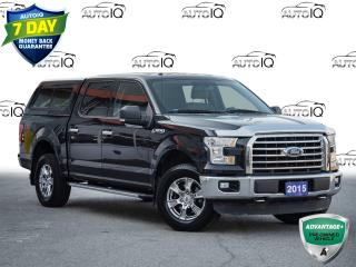 Used 2015 Ford F-150 XLT 5.0 Liter V8       Tailgate Step       Matching Colour Keyed A.R.E. Cap! for sale in St Catharines, ON