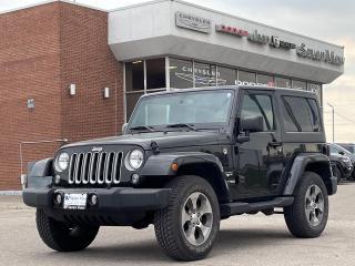 Used 2018 Jeep Wrangler Sahara NAVI/REMOTE STARTER/ONLY 38,000 KM'S for sale in Concord, ON