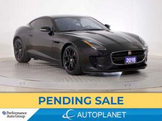 Used 2018 Jaguar F-Type Coupe Supercharged, Navi, Pano Roof, 340 HP! for sale in Brampton, ON