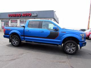 Used 2016 Ford F-150 LARIAT SPECIAL EDDITION 5.0L V8 SuperCrew 4WD Navi Certified for sale in Milton, ON