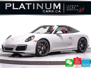 Used 2018 Porsche 911 Targa 4S, 420HP, AWD, PREMIUM PKG +,SPORT CHRONO for sale in Toronto, ON