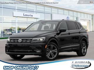 New 2021 Volkswagen Tiguan 2.0T Highline R-Line 4Motion AWD for sale in PORT HOPE, ON