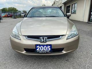 Used 2005 Honda Accord CERTIFIED, SUNROOF, Anti lock breaks, AC for sale in Woodbridge, ON