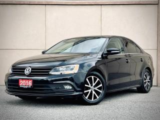 Used 2016 Volkswagen Jetta 1.8T SPORT APPLE PLAY SUNROOF ALLOY CERTI $15499 for sale in Brampton, ON