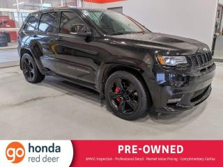 Used 2017 Jeep Grand Cherokee SRT - Accident Free, One Owner for sale in Red Deer, AB