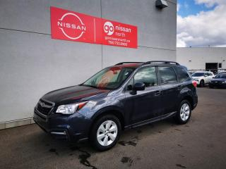 Used 2018 Subaru Forester Convenience 4dr AWD Sport Utility Vehicle / Used Subaru Dealership / for sale in Edmonton, AB